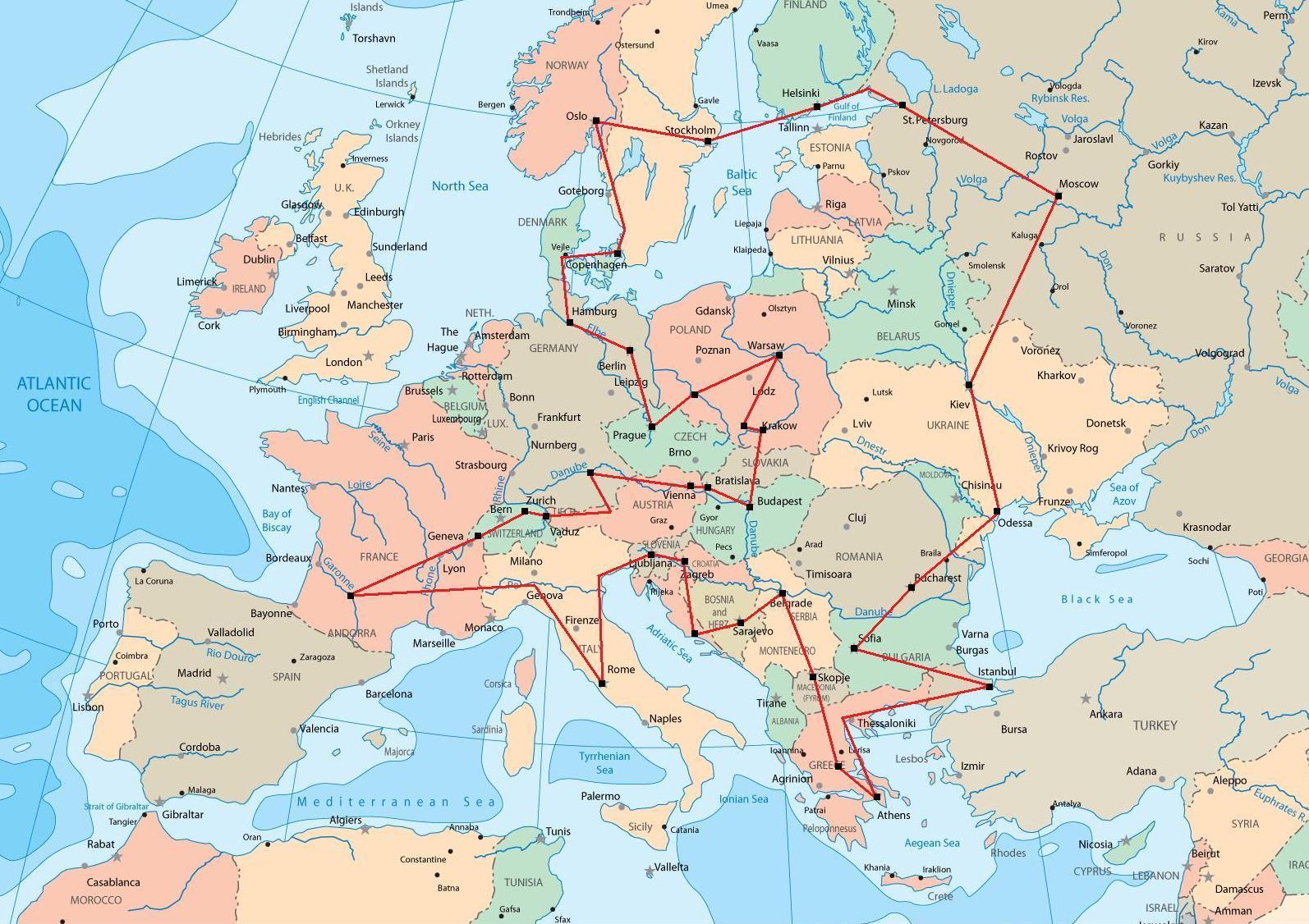Bientôt un Tour d'Europe ?
