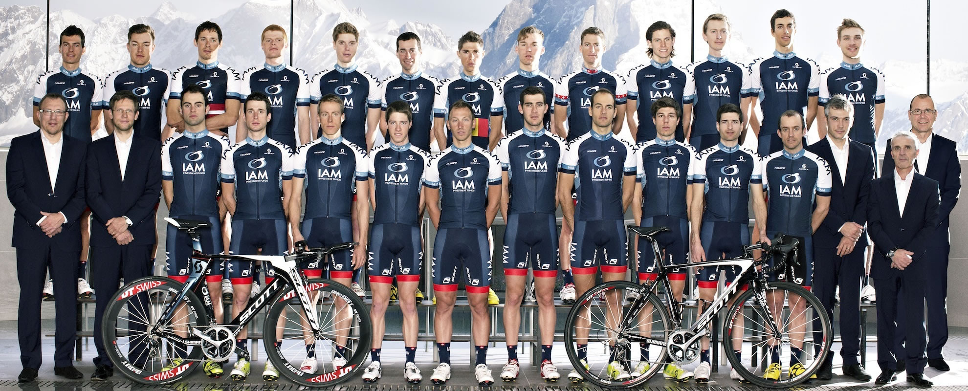 Photo de l'équipe IAM Cycling