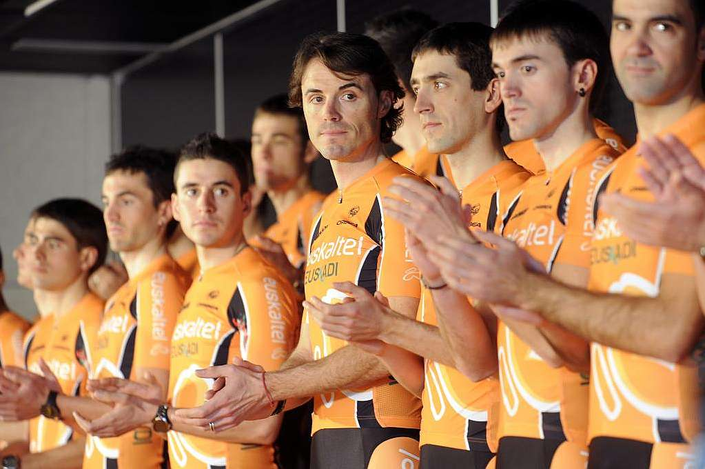 Photo de l'équipe Euskaltel Euskadi