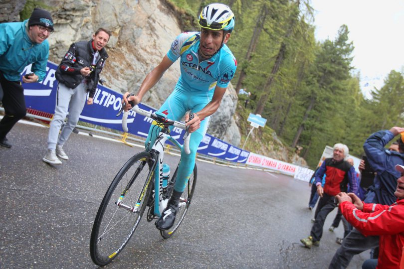 Photo de Vincenzo Nibali sur le Giro