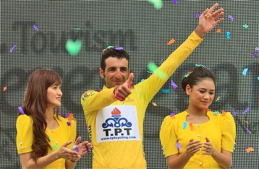 Pourseyedi sur la plus haute marche du podium en Malaisie