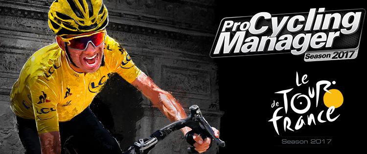 Les premières infos pour Pro Cycling Manager et Tour de France 2017 !