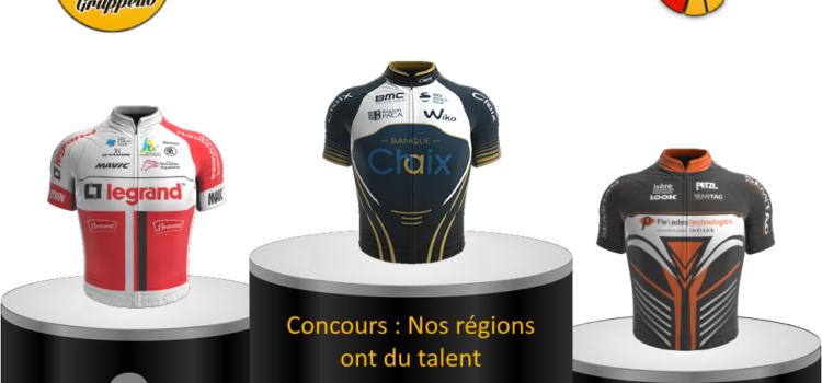 Résultats du Concours Graphs «Nos régions ont du talent»