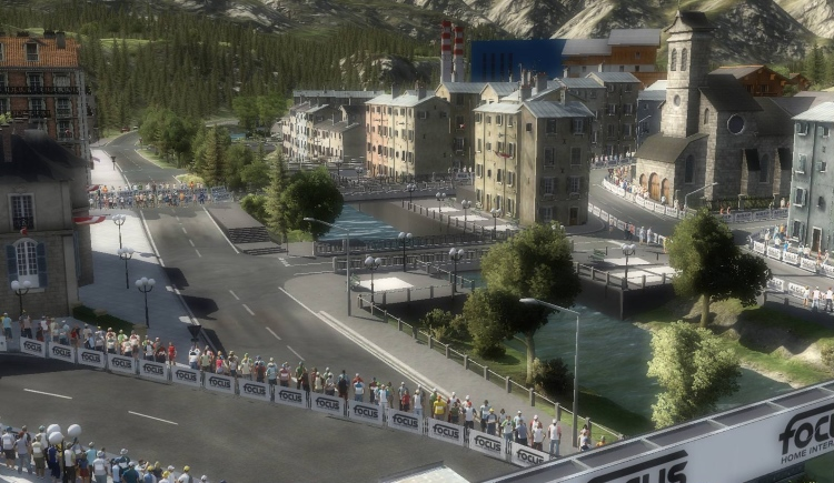 Capture d'écran de Pro Cycling Manager 2018