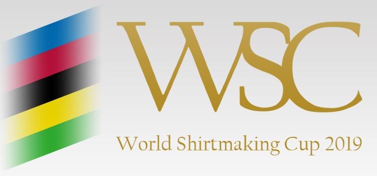 Bannière contenant le logo de la World Shirtmaking Cup
