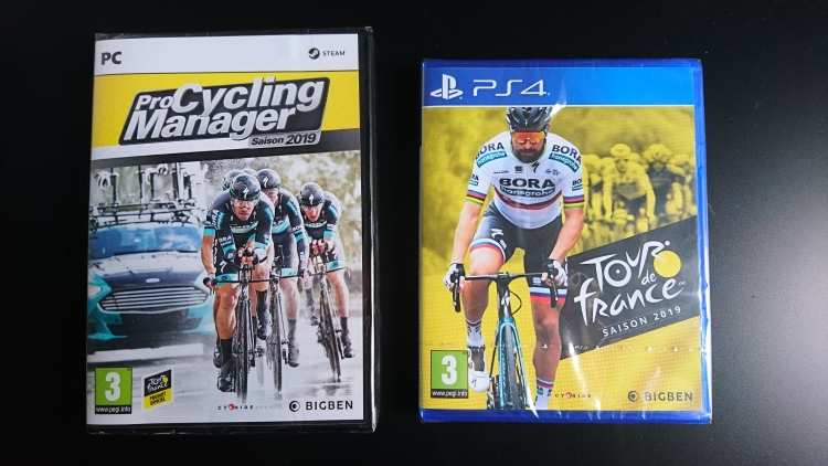 Jacquettes de Pro Cycling Manager 2019 et Tour de France 2019