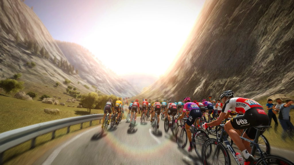 Capture d'écran de Pro Cycling Manager 2020