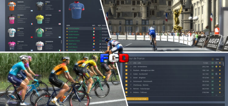 La French Community Database : un pack complet pour Pro Cycling Manager 2020